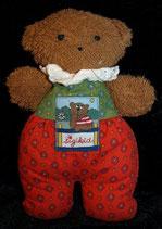 Sigikid Schmusetier Boy Teddy / Bär rot / grün