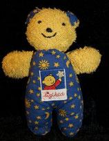 SIGIKID Starlight Bär / Katze blau 17 cm