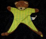 Ravensburger Schmusetuch Teddy / Bär getreift Butz