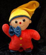 Sterntaler Spieluhr Puppe / Clown / Wichtel rot 2