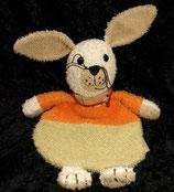 Sterntaler Schmusetuch Hase Frottee grün orange