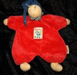 Käthe Kruse Schmusetuch Puppe Gugguli rot Nicki 73505