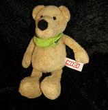 "NICI Bär / Teddy "" Bärchen "" mit Halstuch grün"