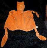 SMILY Woolworth Schmusetuch Katze orange