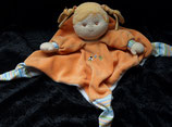 Sterntaler Schmusetuch  Puppe Magdalena orange