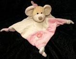 Sterntaler Schmusetuch Maus Milly rosa groß