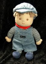 Sterntaler Puppe Junge mit Latzhose 26 cm