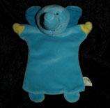 Tupperware TIWI & Friends  Elefant als Handpuppe / Schmusetuch