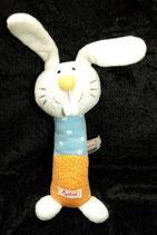 SIGIKID Hase / Bunny  Spieltier / Greifling / Rassel