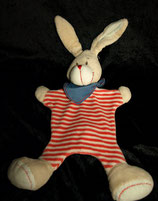 "TCM Schmusetuch Hase "" ...my best friend!  gestreift"