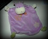 Topolino Schmusetuch Hippo / Nilpferd Lila