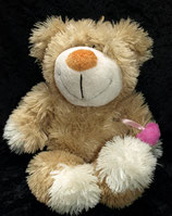 ZIWEMA Teddy / Bär  / Teddybär  mit Herz in Tasche