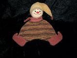 Sterntaler Schmusetuch Clown / Puppe / Junge / Wichtel gestreift