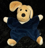 Sterntaler Schmusetuch Hund blau Nicki