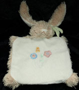 Bengy Hase / Bunny Schmusetuch / Handpuppe Blume