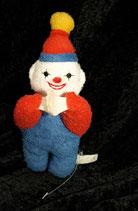 NUK Wichtel / Clown als Schnullerhalter aus Frottee Vintage