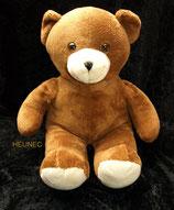 HEUNEC /  Teddy  braun  sitzend