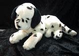 Kuschelwuschel / Karstadt Hund Dalmatiner liegend