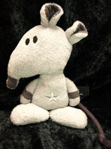 my first NICI  Rassel Rockstarbaby Ratte 19 cm