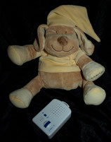 Babiage Doodoo Einschlafhilfe /Spieluhr Herzton Hund NEU