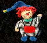 für Frühchen Sterntaler Schmusetuch Clown PEPE 13 cm