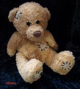 Althans Club Kuscheltier Teddy mit Flicken