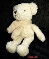 Nicotoy / Baby Club Teddy / Bär / Eisbär mit Schal