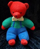 Sterntaler  Bär / Teddy Frottee rot / blau / grün RAR