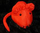 PAUL HAMBURG   Knautschi / Puffalump  rote Maus