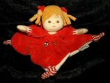 Sterntaler Schmusetuch  Puppe Magdalena rot klein