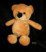 SMILY / DWW Woolworth Schmusetier Teddy / Teddybär mit Bauchnabel