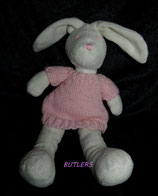 BUTLERS Hase mit rosa Kleid
