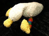 Käthe Kruse Schlenkertier Ente mit Holzbeinen