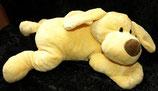 KIK Hund gelb OHNE  bunte Füße