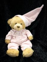 Kuschelwuschel / Karstadt Teddy Im Schlafanzug rosa