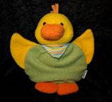 Sterntaler Spieluhr  Ente / Vogel  Babyplüsch grün / gelb