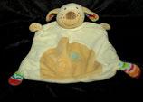 Baby Fehn  Schmusetuch Hund beige  Kringel