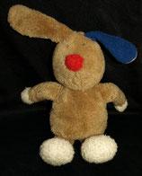 """Sigikid """"  Der Hase mit der roten Nase und dem blauem Ohr """""""
