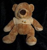 Anna club plush Teddy / Bär mit Bienen Pulli