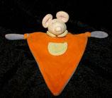 Woolworth DWW Schmusetuch / Kuscheltuch Maus