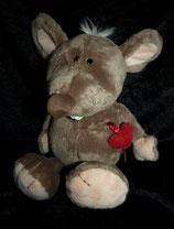 NICI  Love Ratte / Maus Herz 32 cm wie NEU