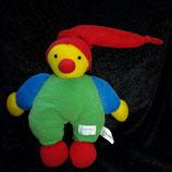 SIMBA  Puppe Harlekin / Narr / Clown  rote Zipfelmütze
