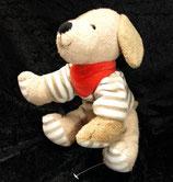 Sterntaler Spielfigur mit Rassel  Hund Hanno