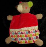 Babydream / ROSSMANN Schmusetuch Maus Pink Äpfel Muster