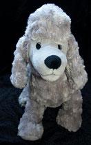IKEA Hund Gosig Pudel in grau