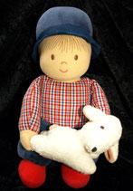 Sterntaler Spieluhr Puppe / Junge / Schäfer / Schaf