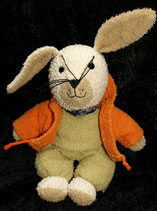 Sterntaler Schmuser Hase Frottee grün orange