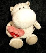 NICI  Bud Love Nilpferd mit Herz