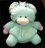 Knautschi / Puffalump Teddy / Bär aus Baumwolle 80er Jahre