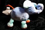 IKEA Barnslig Elefant Elephant Stofftier  Plüschtier